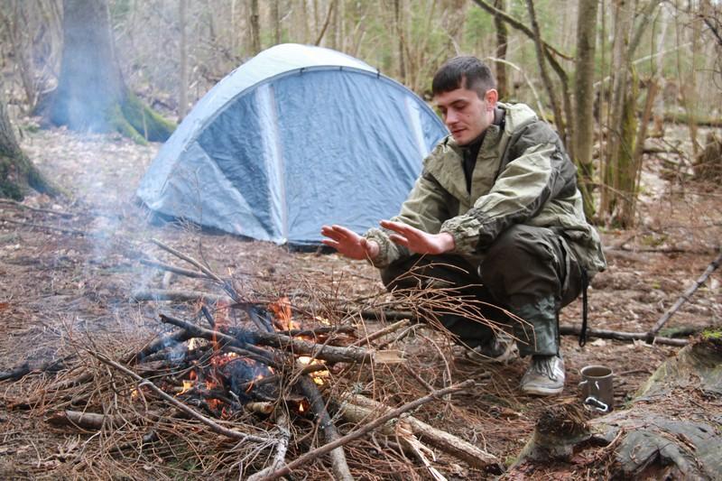 В лесу фото студенты 23698 фотография