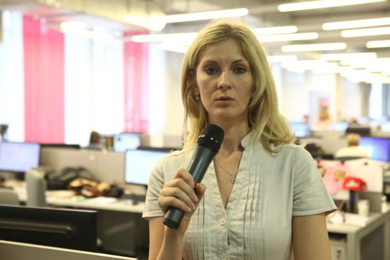 Оксана Крученко. Шеф-редактор газеты «Новые Округа»