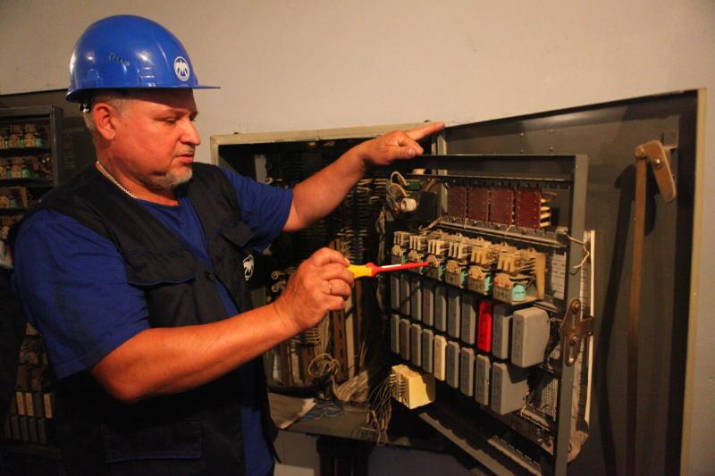 Ремонтные работы по замене электроснабжения завершены в деревне Марьино