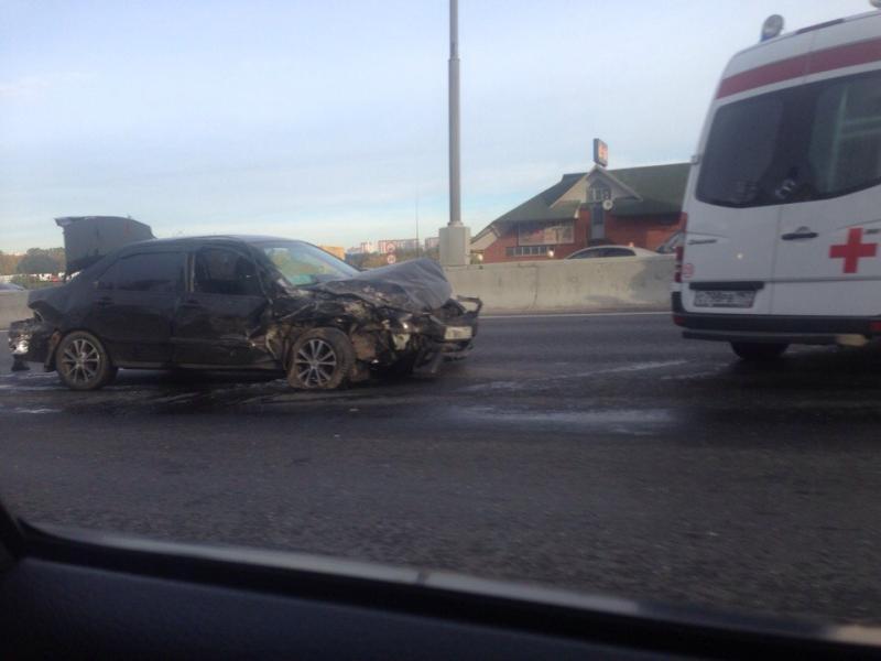 Движение автотранспорта на МКАД после аварии полностью восстановлено