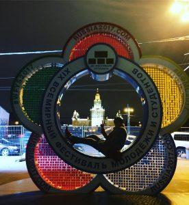 Часы обратного отсчета установили студенты столичных вузов. Фото: соцсети