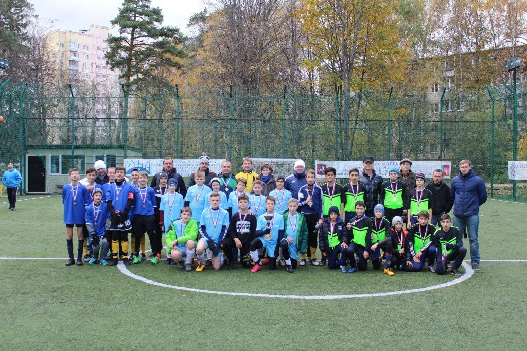 Победителем турнира «Золотой гол» стала команда поселения Вороновское