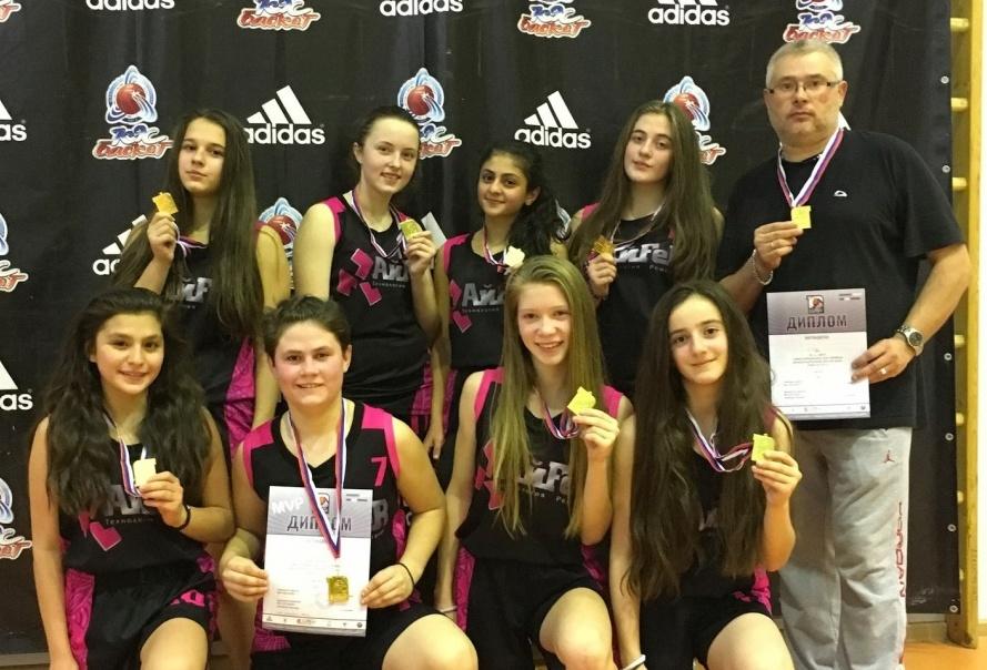 Баскетболистки из Первомайского представят Новую Москву на городских соревнованиях
