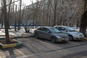 Парковки на улице Крупская.
