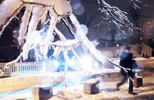 Дата: 30.11.2012, Время: 18:33 Последствия ледяного дождя в Москве.