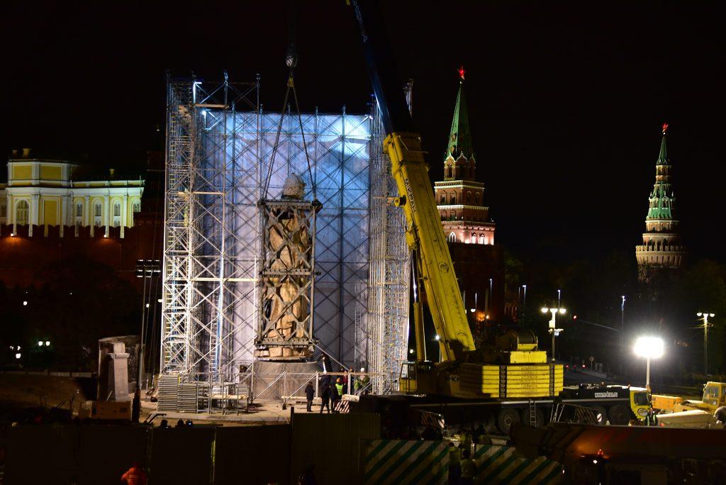 Церемония открытия памятника князю Владимиру состоялась в центре Москвы