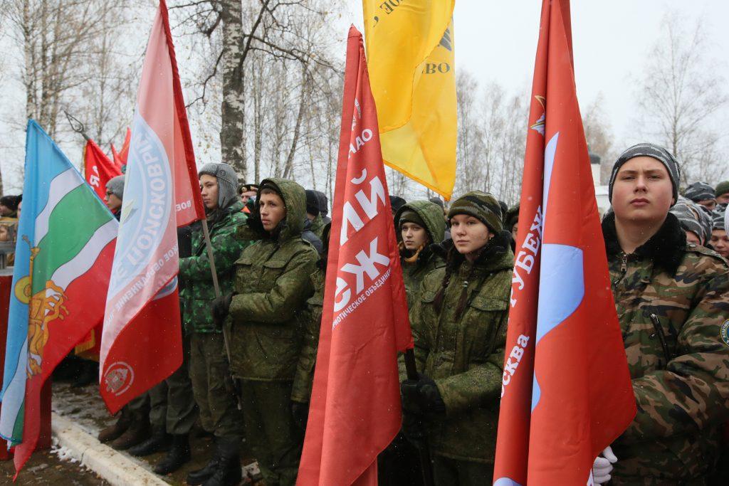 Торжественное закрытие «Вахты памяти-2016» состоялось в деревне Кузовлево