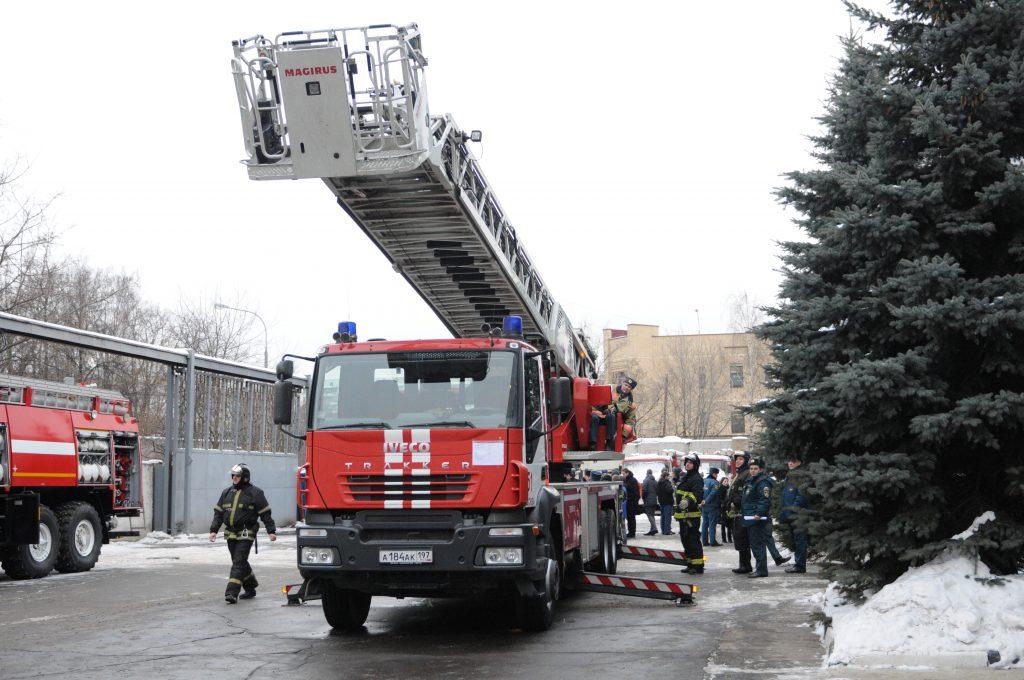 В Краснопахорском пройдут пожарно-тактические учения