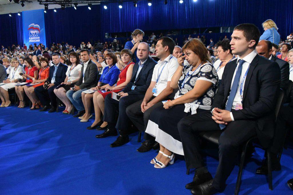 На выборах в Москве ЕР впервые получила больше 75процентов мандатов. Фото: архив