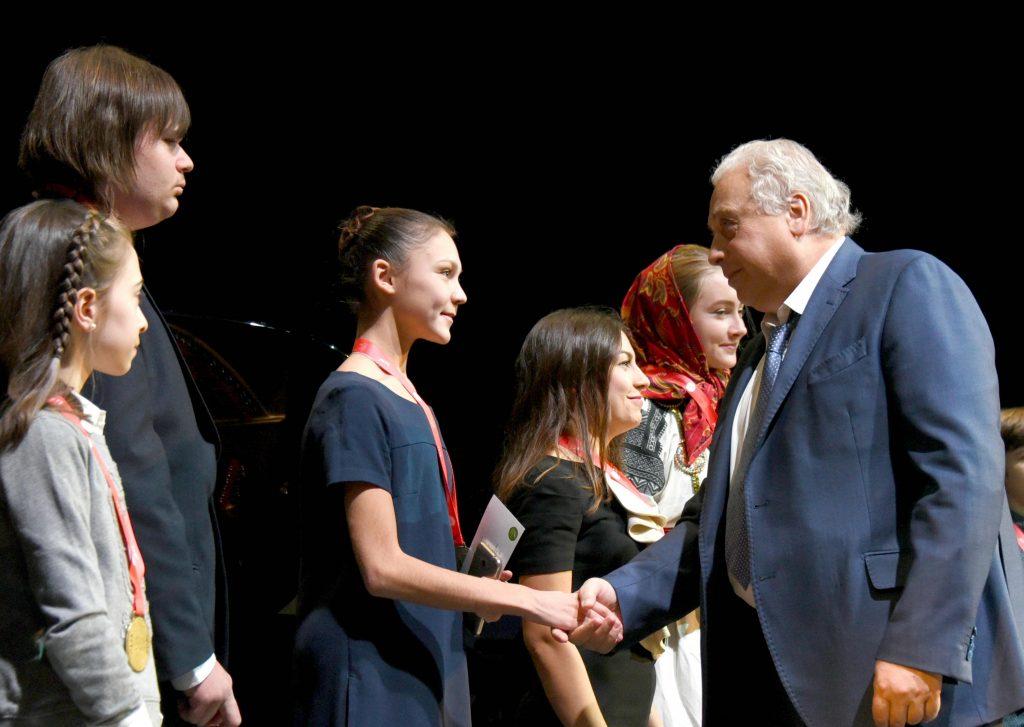 Вручение грантов мэра Москвы состоялось в театре «Геликон-опера»