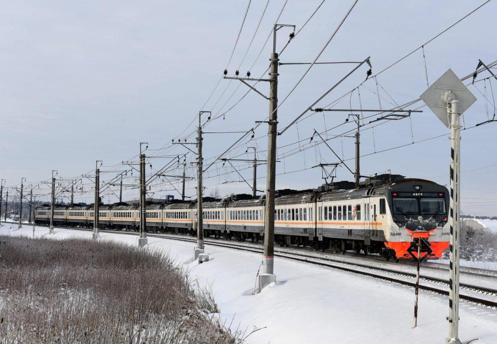Электрички Киевского направления следуют с увеличенным интервалом