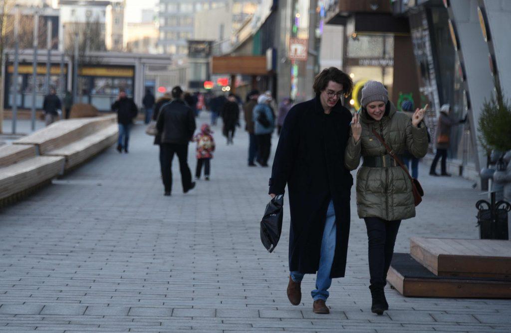 Новые тротуары обустроили в поселении Кленовское