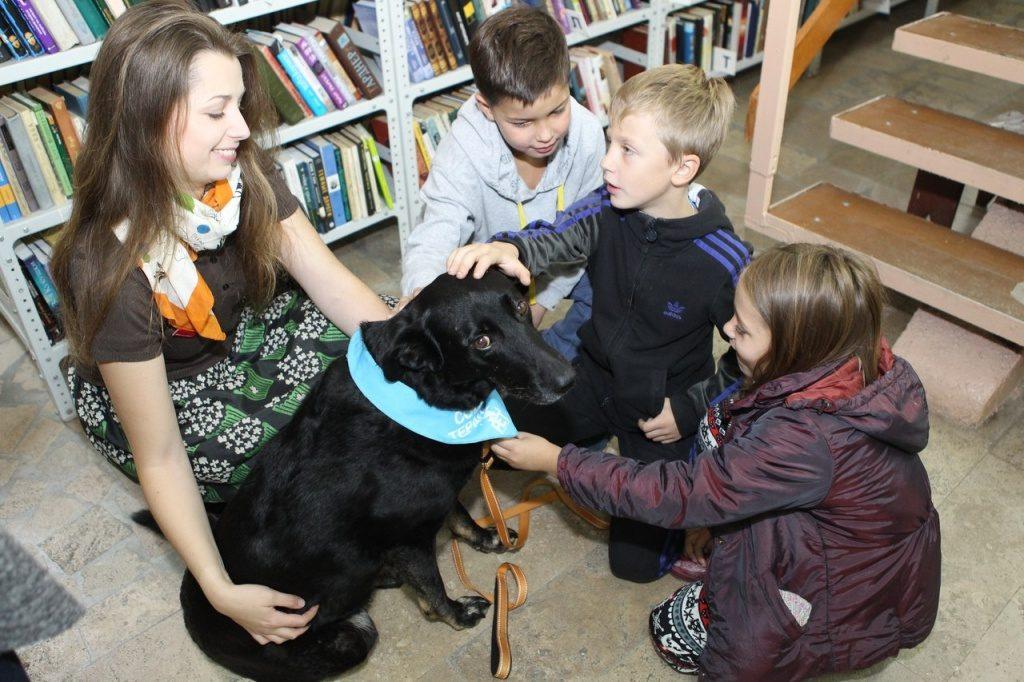 Ватутинская библиотека проведет мероприятие с собакой-терапевтом