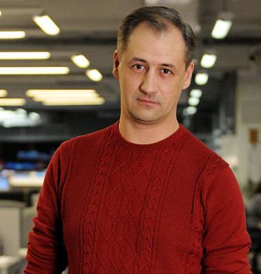 Валентин Звегинцев, шеф-редактор газеты «Новые округа»