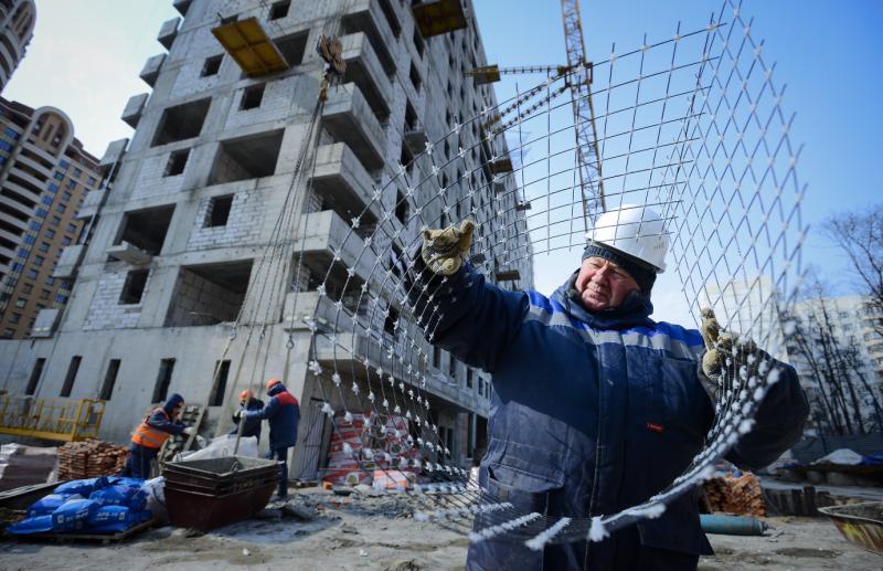 """За ноябрь введено в эксплуатацию 225 тысяч квадратных метров жилой недвижимости . Фото: архив, """"Вечерняя Москва"""""""