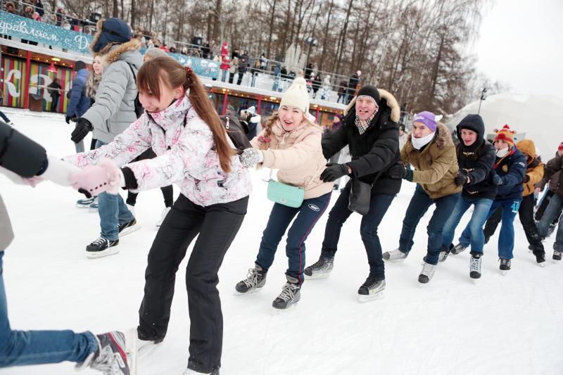 Парк Горького готовит сюрпризы к Новому году