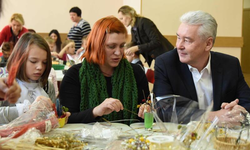 Собянин: В Москве активно развивается система дополнительного образования детей и молодежи