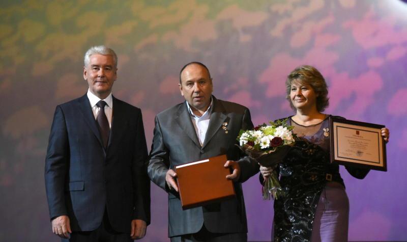 Собянин вручил награды многодетным семьям