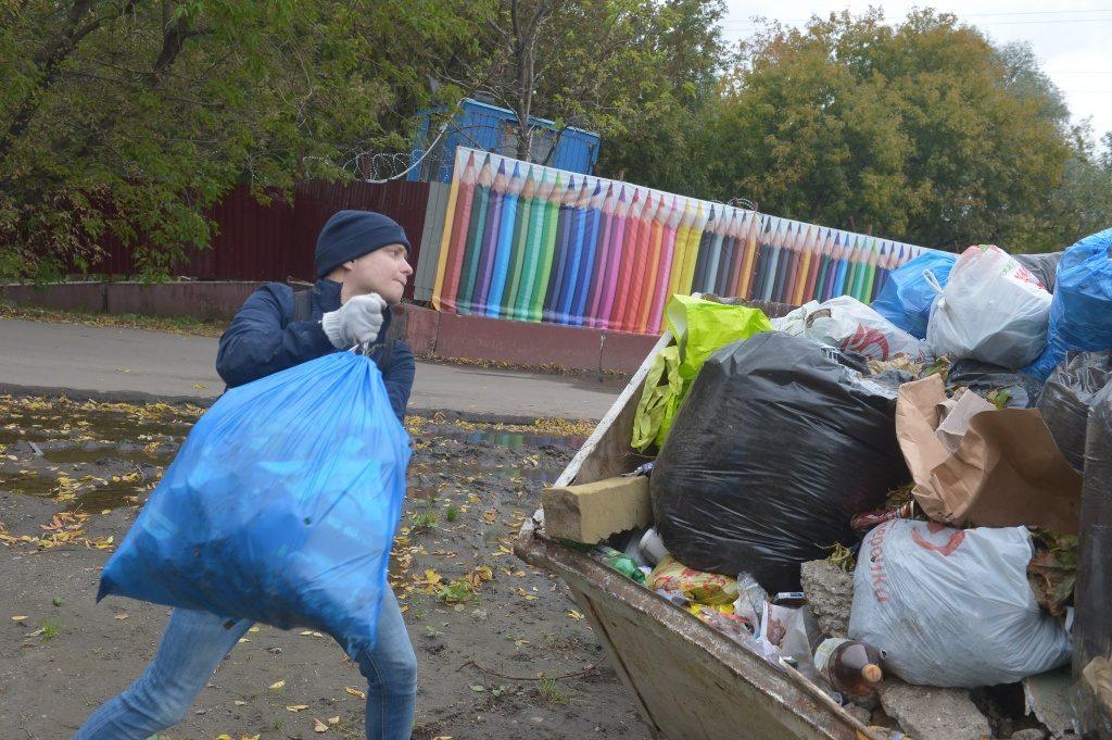 Марушкинское очистили от стихийных свалок