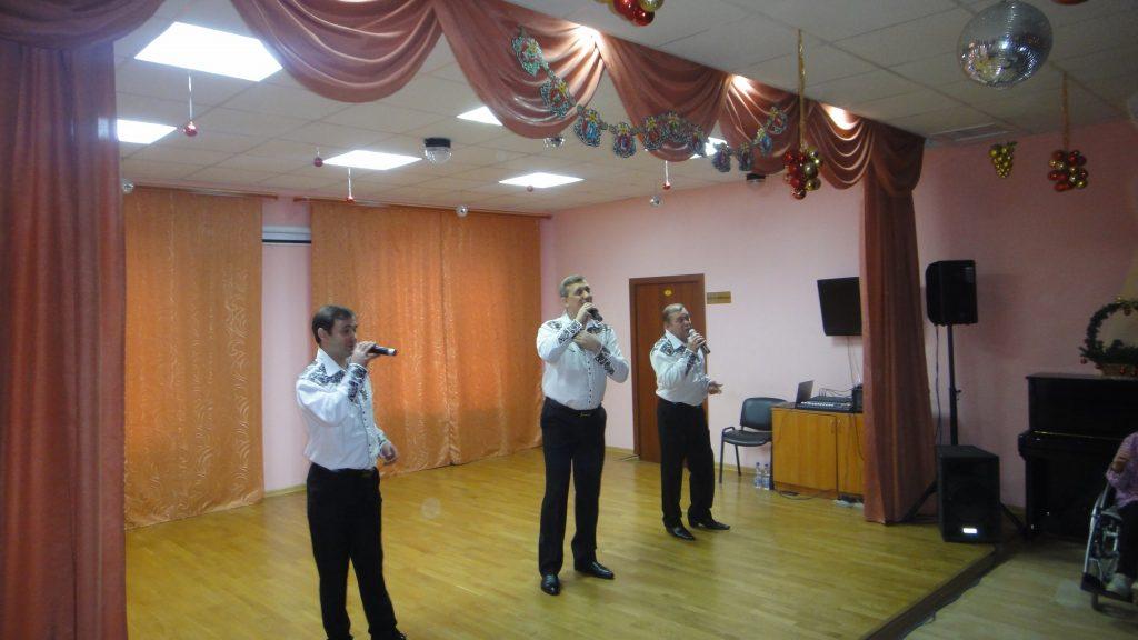Дом культуры «Московский» провел благотворительный концерт в Психоневрологическом интернате №5