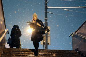 Дата: 10.12.2014, Время: 18:10 Снегопад в Москве