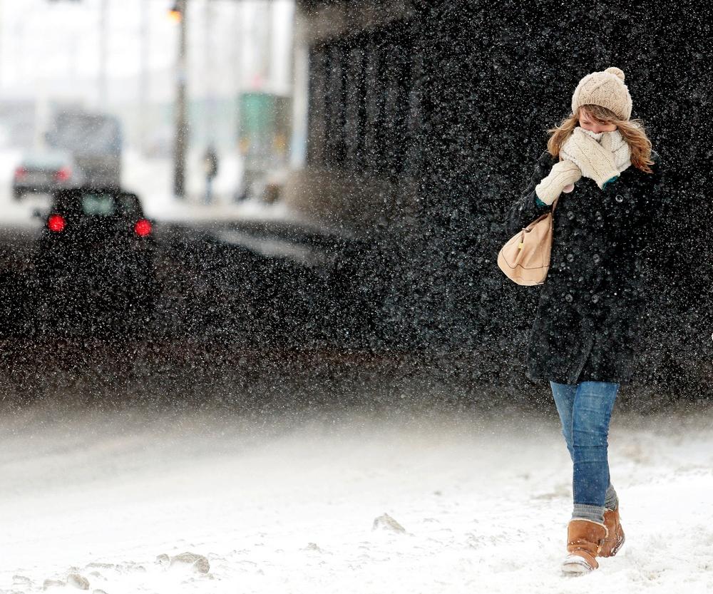 Москву ожидают сильное потепление и метель
