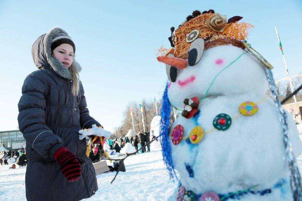 """Парад необычных снеговиков пройдет в Троицке. Фото: архив, """"Вечерняя Москва"""""""