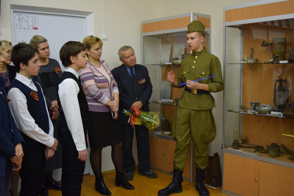 В школе №2120 открылся Музей боевой Славы. Фото: Олеся Минина