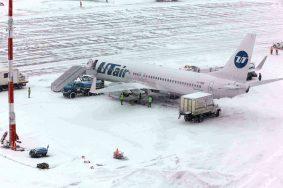 04.12.2012, Снегопад в аэропорту внуково