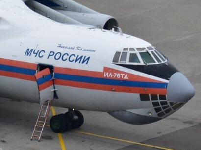 Борт Минобороны с телами погибших при катастрофе Ту-154 прилетел в Москву