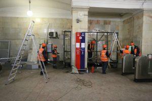 """В выходные дни перекроют вестибюли 11 станций. Фото: """"Вечерняя Москва"""""""