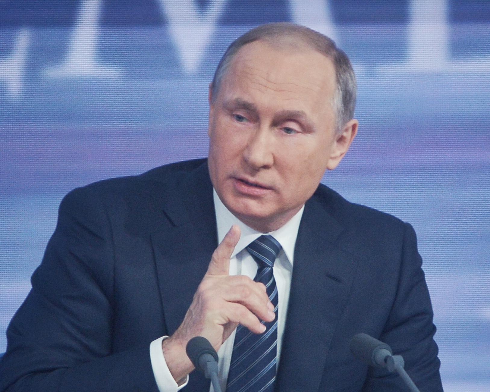 Владимир Путин объяснил атаку террористов на Пальмиру
