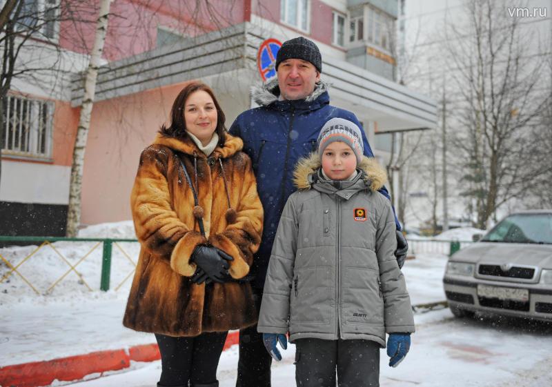 Народные герои из Новой Москвы получили награду за личное мужество