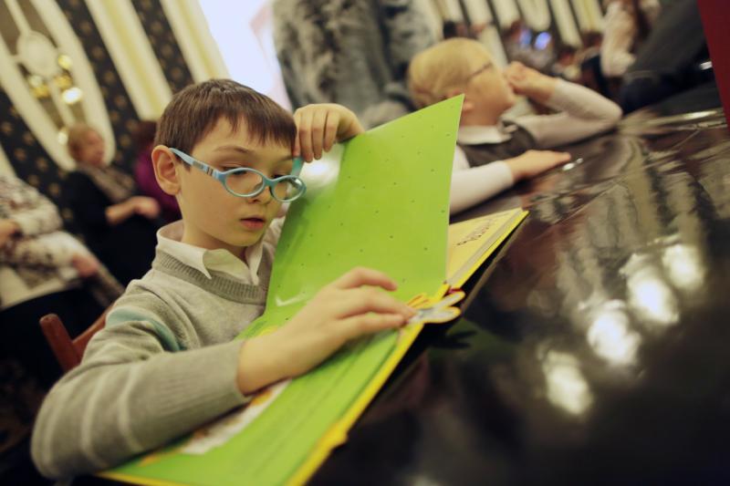 Библиотека имени Михайловых пополнит фонд книгами для слабовидящих