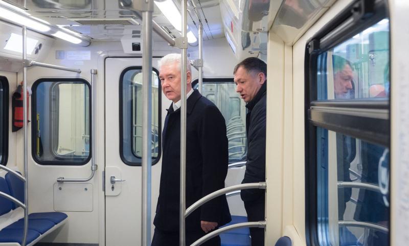 Собянин провел технический пуск участка метро
