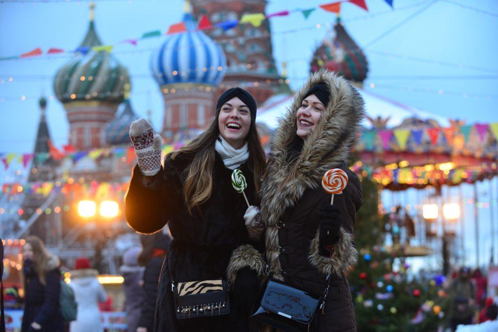В тройку популярных городов России для посещения вошла столица