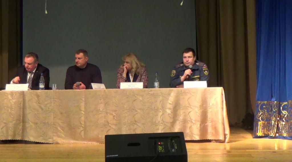 Жителям Первомайского напомнили о мерах
