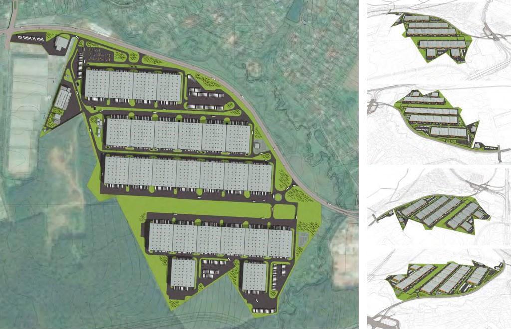 В новейшей столице России появится логистический комплекс сфасадом ввиде летящих ласточек