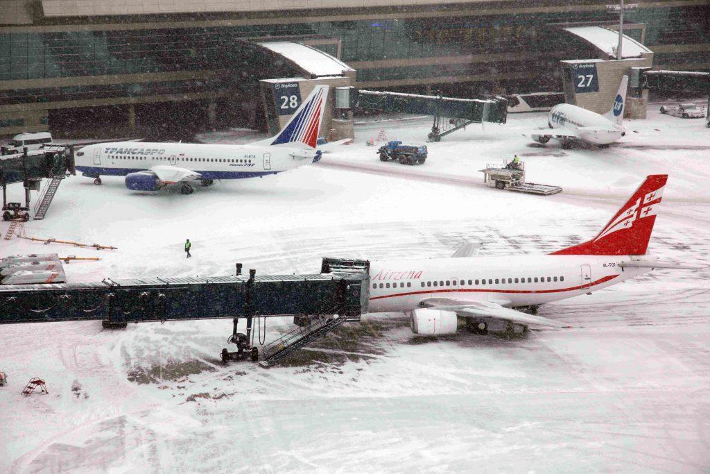 Московские аэропорты 25 января отменили 25 рейсов