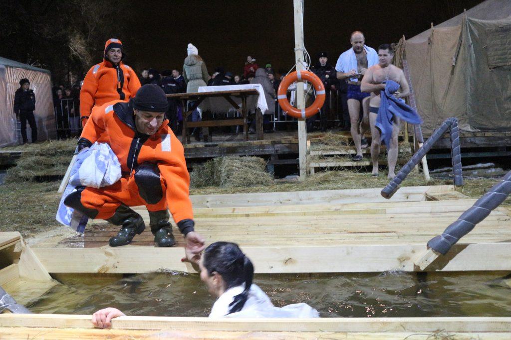 Правила безопасного поведения при проведении Крещенских купаний