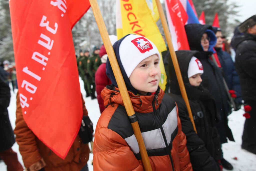 Музею школы №2073 передадут нагрудный знак «75 лет Битвы за Москву»