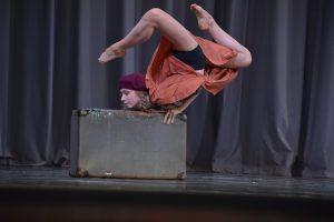 Соревнования по танцам во Дворце пионеров на Воробьевых горах.