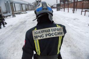 В жилом доме на востоке Москвы произошел пожар