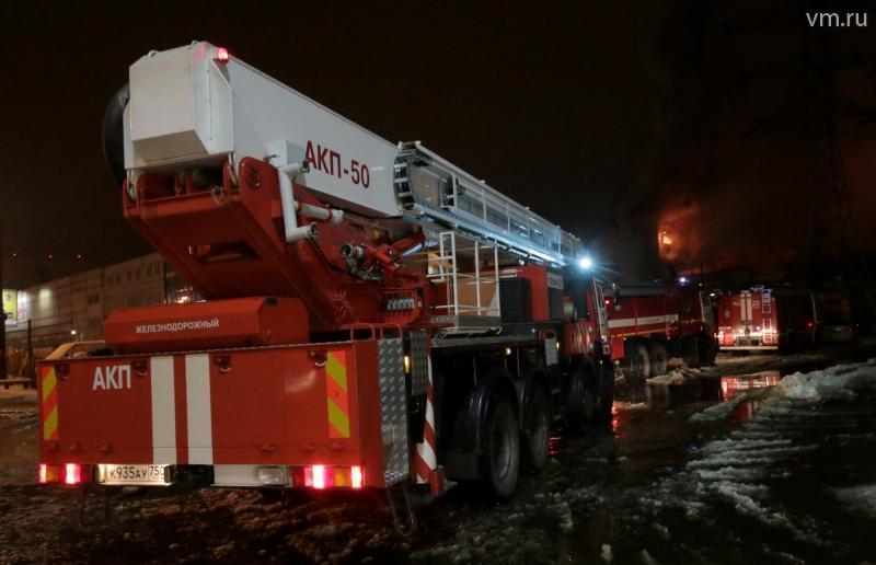 Поджог мог стать причиной пожара в крупном торговом центре столицы