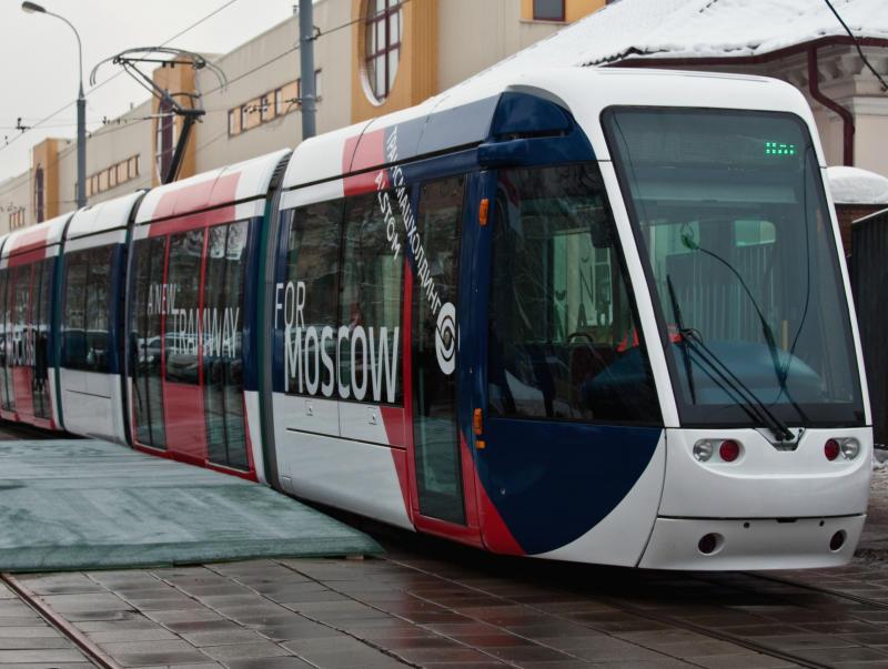 Сеть скоростных трамвайных линий составит 48 километров к 2025 году в Новой Москве
