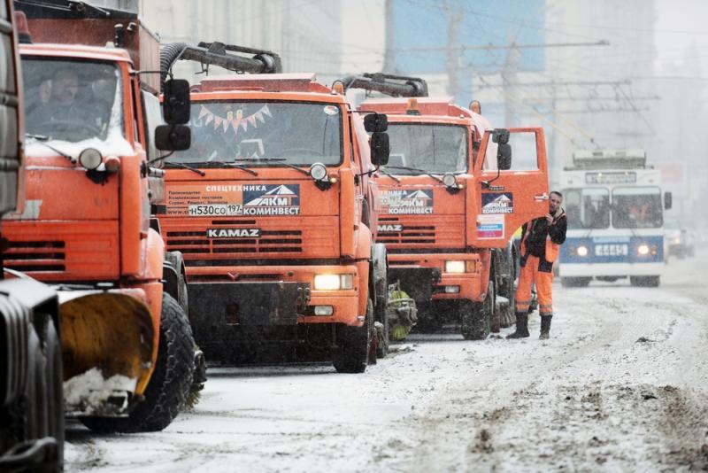 Коммунальные службы готовы к грядущим снегопадам