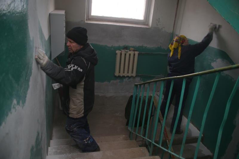 Девять подъездов планируют отремонтировать в Роговском