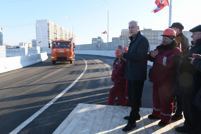 Новый путепровод связал восточные и западные кварталы Щербинки