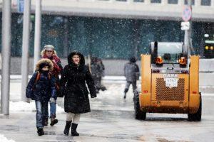 """Ситуация на дорогах усложнится из-за гололеда. Фото: """"Вечерняя Москва"""""""