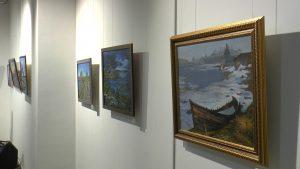 На выставке представлены картины, посвященные Русскому Северу. Фото: сайт администрации городского округа Щербинка
